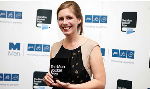 Booker Prize 2013 winner, Eleanor Catton