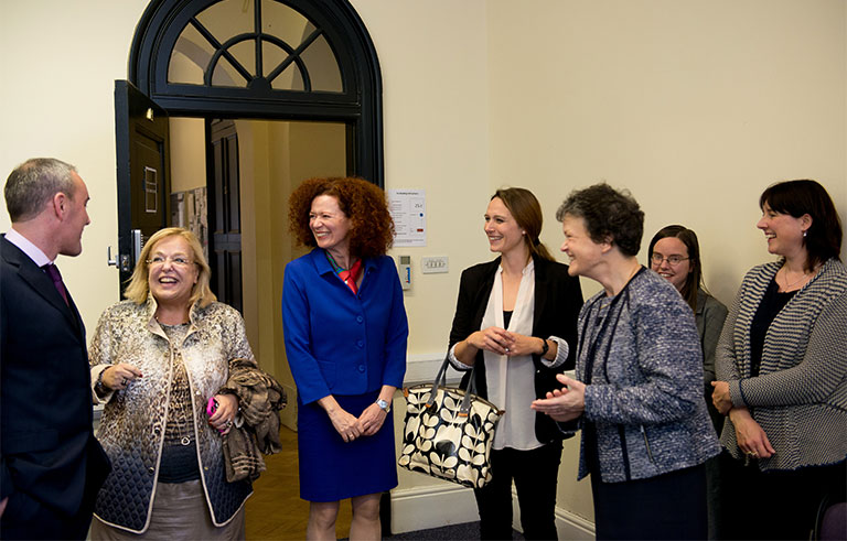 4. Olga Cosmidou is welcomed to The University of Manchester