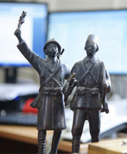 Models of soldiers