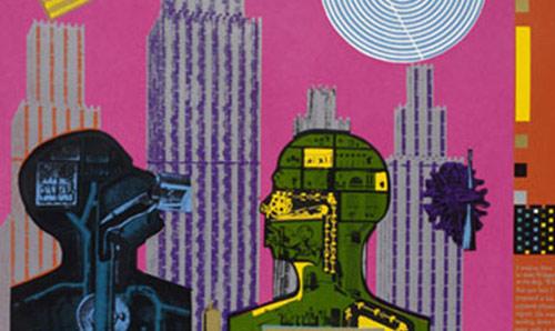 Eduardo Paolozzi's Wittgenstein in New York