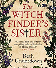 Beth Underdown 'The Witchfinder's Sister'