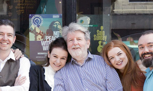 Martin Lynch and play cast