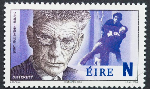 Samuel Beckett Irish postage stamp