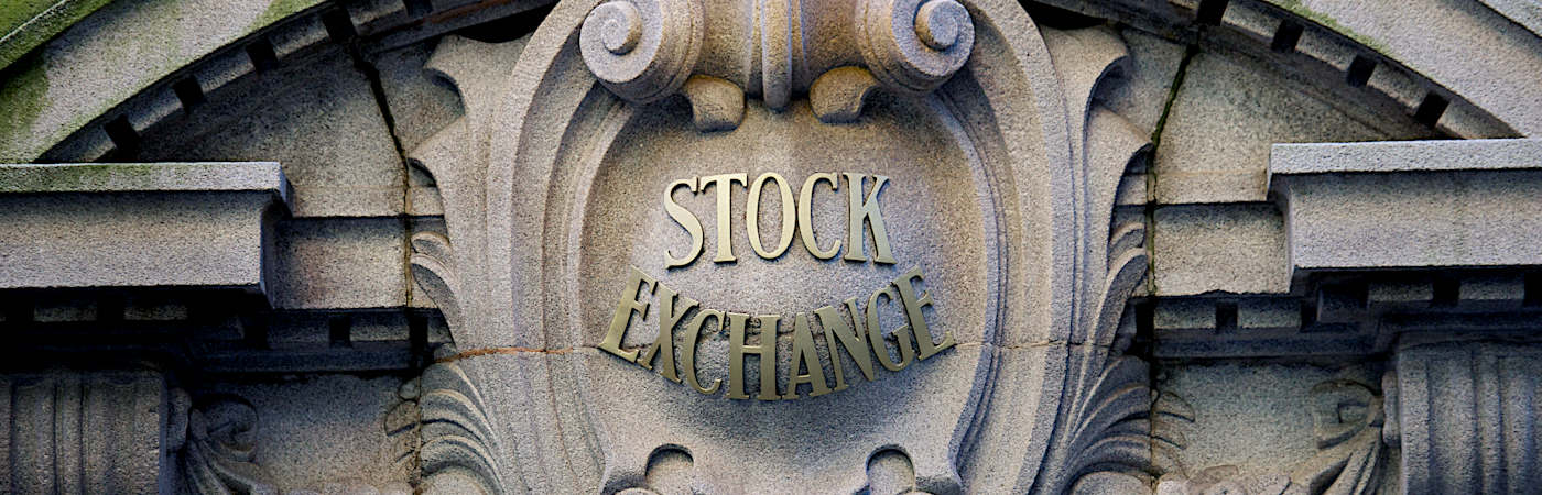 stock exchange sign