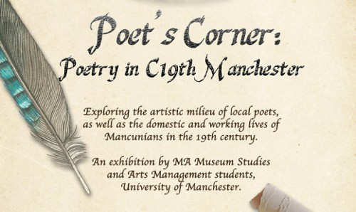 part of poets corner flyer