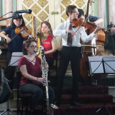 Klezmer performance