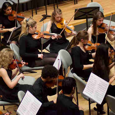 String Orchestra in concert