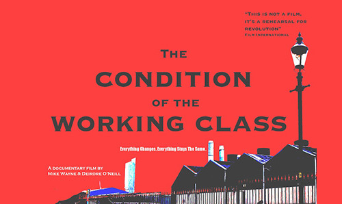 Condition of the working class poster